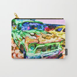An Old Pickup Truck 1 Carry-All Pouch
