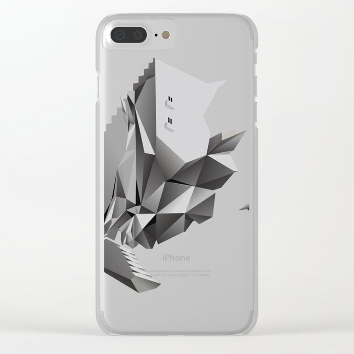 singularity Clear iPhone Case
