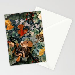 Birds and snakes Stationery Cards