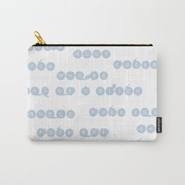 Blue Insults Carry-All Pouch