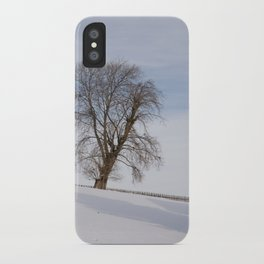 In white iPhone Case