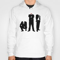 suits Hoodies featuring Suits by ChrisShirts