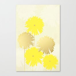 Blooming Bliss Art Print Canvas Print