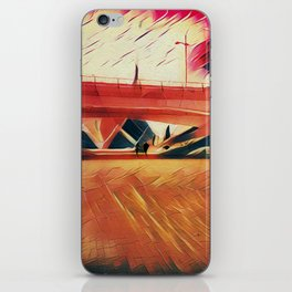 Escape from the city iPhone Skin