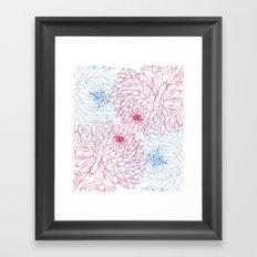 Floral composition Framed Art Print