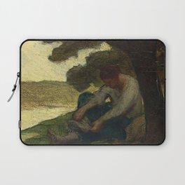 """Honoré Daumier """"Après le bain (After bath)"""" Laptop Sleeve"""