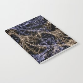 Blue Magical Wisps Notebook