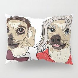 Celebrity Dogs-Ryan Chew-Crest & Kelly Ruff-A Pillow Sham