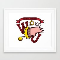 wreck it ralph Framed Art Prints featuring Wreck-It Ralph: Wreck-It University by Macaluso