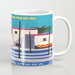 Vintage poster - French Riviera Coffee Mug