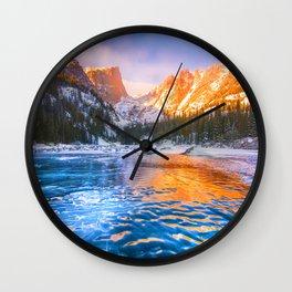 Dream Lake Wall Clock