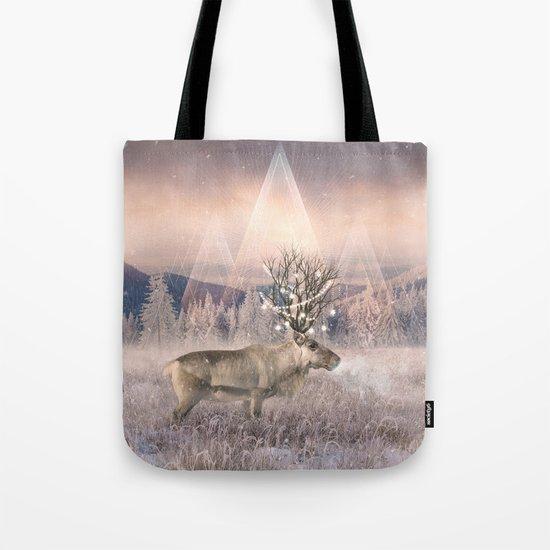Stillness of Winter Tote Bag