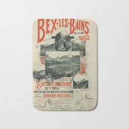 plakater Bex Les Bains Bath Mat