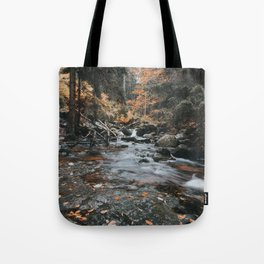 Autumn Creek - Landscape and Nature Photography Tote Bag