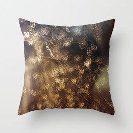 Night rain Throw Pillow