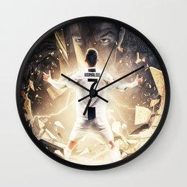 CristianoRonaldo legend Wall Clock