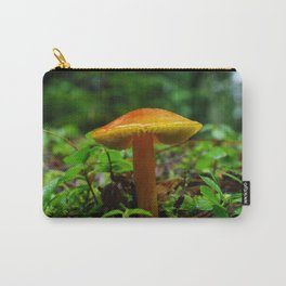 Tiny Toadstool Mushroom Carry-All Pouch