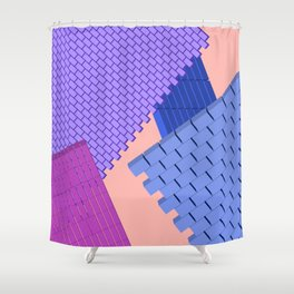 cityscape 04_02 Shower Curtain