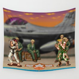 Super Street Fighter Wall Tapestry