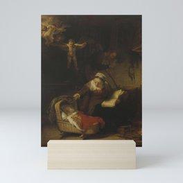 Holy Family - Rembrandt Mini Art Print