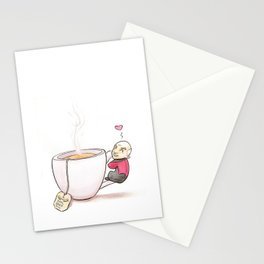 Tea, Earl Grey, Hot Stationery Cards