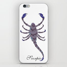 Starlight Scorpio iPhone Skin