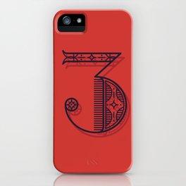 Alphabet Drop Cap Series iPhone Case