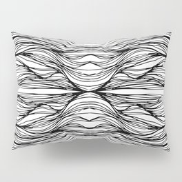 Line Warp Pillow Sham