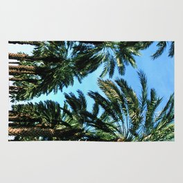Date Palm Trees Rug