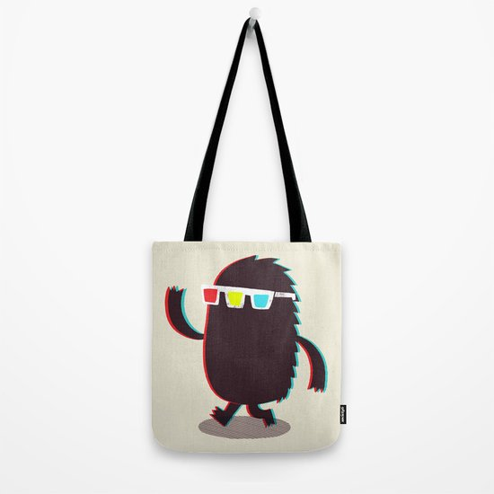 MONSTER 3d Tote Bag