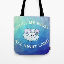 Count me baby Tote Bag