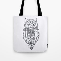 O W L - B&W Tote Bag