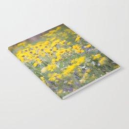 Meadow Gold - Wildflowers in a Mountain Meadow Notebook