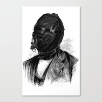 bdsm Canvas Prints featuring BDSM XI by DIVIDUS