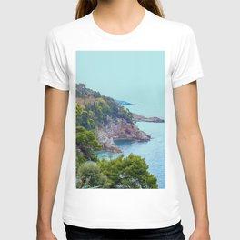 Rocky Coast #decor #society6 #buyart T-shirt