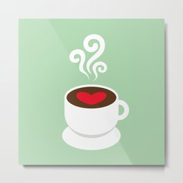 A Cup of Love Metal Print
