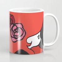ruby Mugs featuring Ruby by Sophy Henn