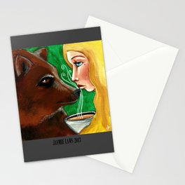 Too Hot Stationery Cards