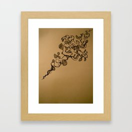 Meandering Thoughts  Framed Art Print