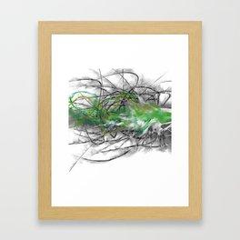 the anxieties, #3 Framed Art Print