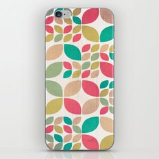 Vintage Spring Pattern iPhone Skin