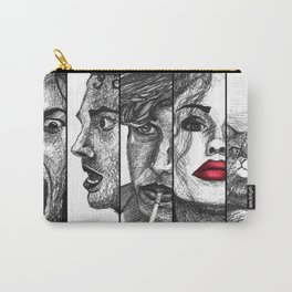 Film Noir Collage Carry-All Pouch