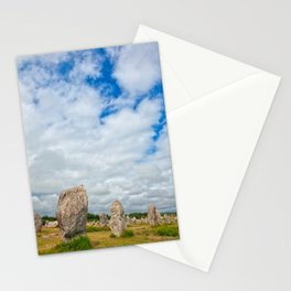 Carnac Stones Stationery Cards