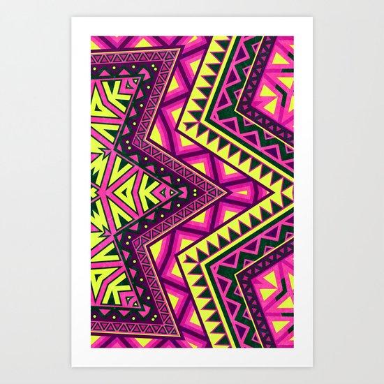 Indian Drugs Pattern Art Print