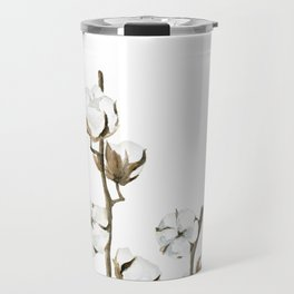 Cotton flowers Travel Mug