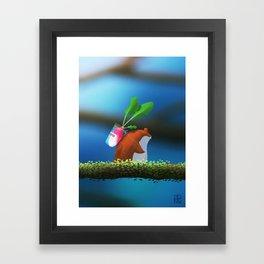 Hamster's Harvets Framed Art Print