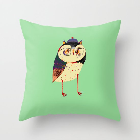 Owl Cutey. Throw Pillow