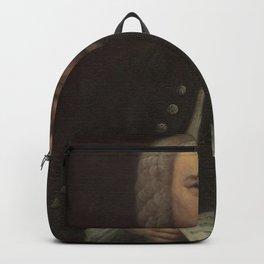 Elias Gottlob Haussmann - Portrait of Bach Backpack