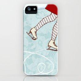 Ice Skating iPhone Case