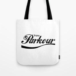 Parkour Enjoyment Tote Bag